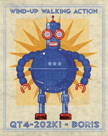 Boris Box Art Robot by John W. Golden