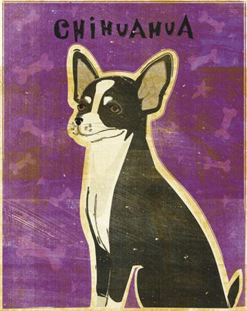 Chihuahua (black and white) by John W. Golden