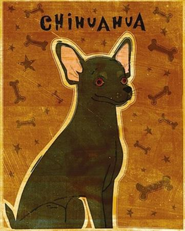 Chihuahua (black) by John W. Golden