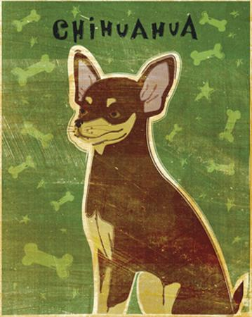 Chihuahua (chocolate and tan) by John W. Golden