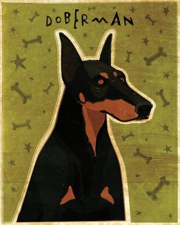 Doberman by John W. Golden