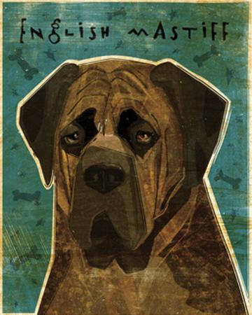 English Mastiff (Brindle) by John W. Golden