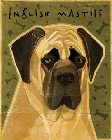 English Mastiff by John W. Golden