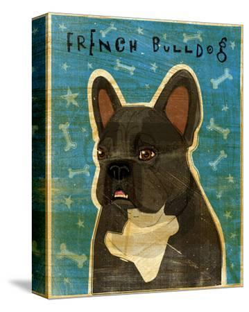 French Bulldog (Black and White) by John W. Golden