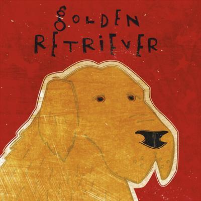 Golden Retriever (square) by John W. Golden