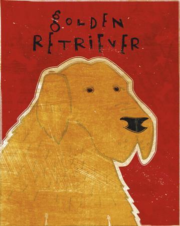Golden Retriever by John W. Golden