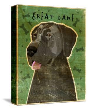 Great Dane (Blue, no crop) by John W. Golden