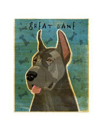 Great Dane (Blue) by John W. Golden