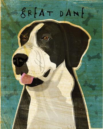 Great Dane (Mantle, no crop) by John W. Golden