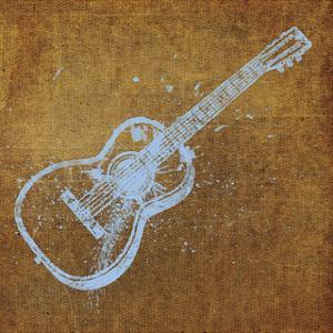 Guitar by John W. Golden