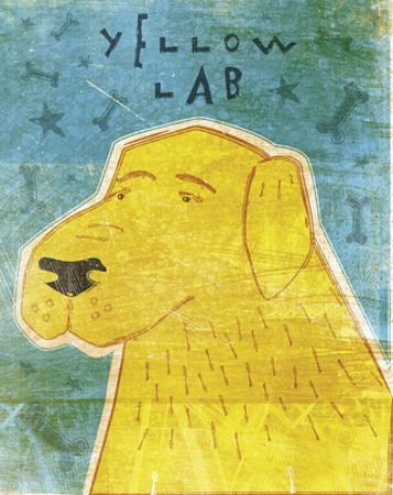 Lab (yellow) by John W. Golden