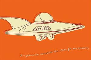 Lunastrella Flying Saucer by John W. Golden