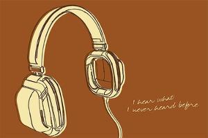 Lunastrella Headphones by John W. Golden