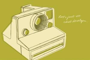 Lunastrella Instant Camera by John W. Golden