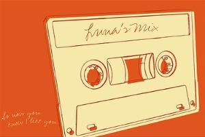 Lunastrella Mix Tape by John W. Golden