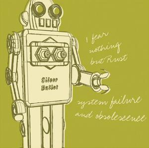 Lunastrella Robot No. 1 (square) by John W^ Golden