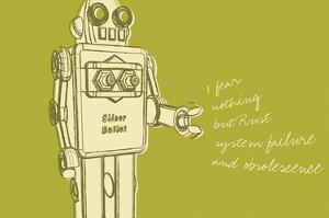 Lunastrella Robot No. 1 by John W. Golden