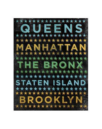 New York Hoods (color) by John W. Golden
