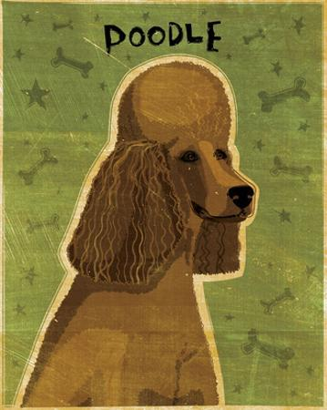 Poodle (brown) by John W. Golden