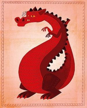 Red Dragon by John W^ Golden