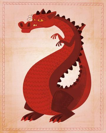 Red Dragon by John W. Golden