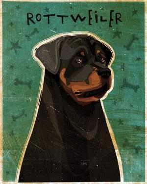 Rottweiler by John W. Golden