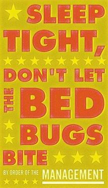 Sleep Tight, Don't Let the Bedbugs Bite (green & orange) by John W. Golden