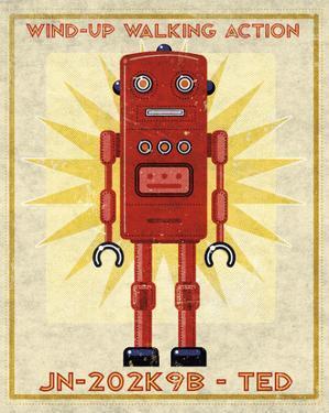 Ted Box Art Robot by John W. Golden