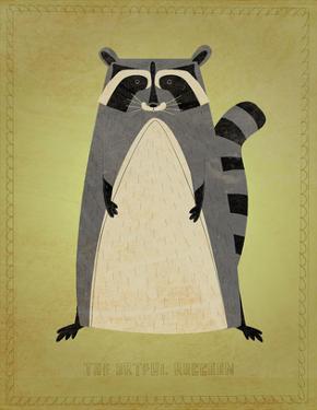 The Artful Raccoon by John W. Golden