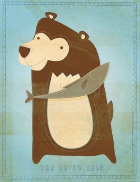 The Happy Bear by John W. Golden