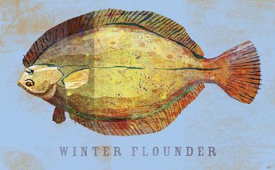 Winter Flounder by John W. Golden