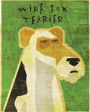 Wire Fox Terrier by John W. Golden