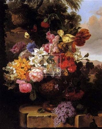 Stately Garden II