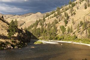 Middle Fork of the Salmon River, Frank Church River of No Return Wilderness, Idaho, Usa by John Warburton-lee