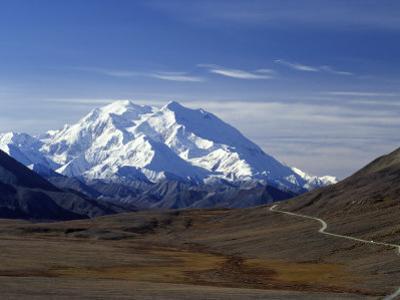 Mount Mckinley, Denali National Park, Alaska, USA by John Warburton-lee