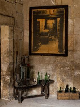 Old Bottling Machine Inside a Disused Winery in the Village of Abalos by John Warburton-lee