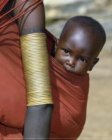 Samburu Baby, Kenya by John Warburton-lee