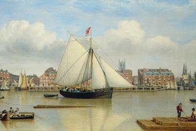Hull from the Humber, C.1837