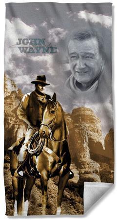 John Wayne - Ride Em Cowboy Beach Towel