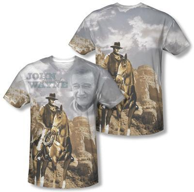 John Wayne - Ride Em Cowboy (Front/Back Print)
