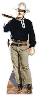 John Wayne - Rifle on Shoulder Lifesize Cardboard Cutout