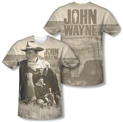 John Wayne - Stoic Cowboy (Front/Back Print)
