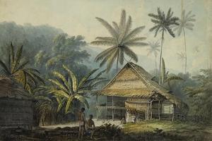 View in the Island of Crakatoa by John Webber