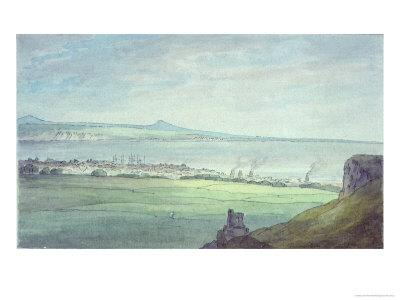 Leith, with Kirkaldy on the Coast of Fifeshire
