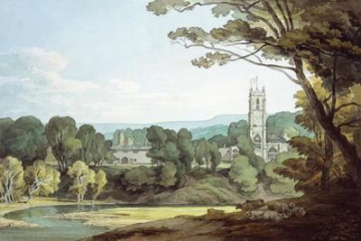 The Church and Castle at Tiverton, Devon
