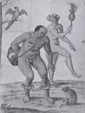 Brazilian Indians Dancing by John White