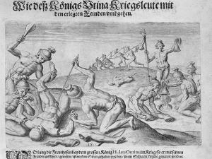 Cannibalism, Engraved by Theodor De Bry by John White