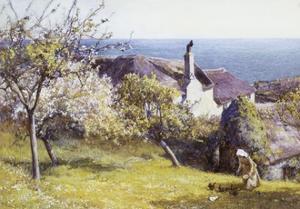 Springtime, Devon by John White
