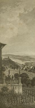 Pastoral Panorama I by John Wiek