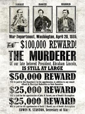 John Wilkes Booth Replica Wanted